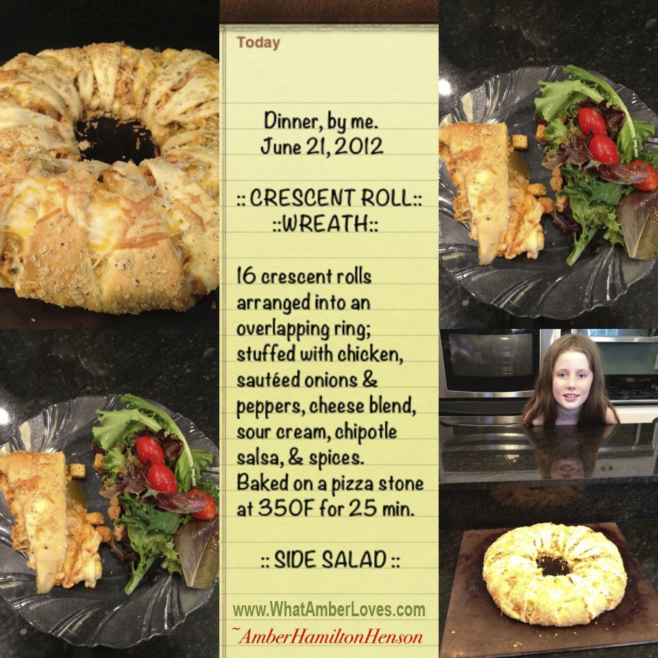 Crescent Roll Wreaths (3/6)
