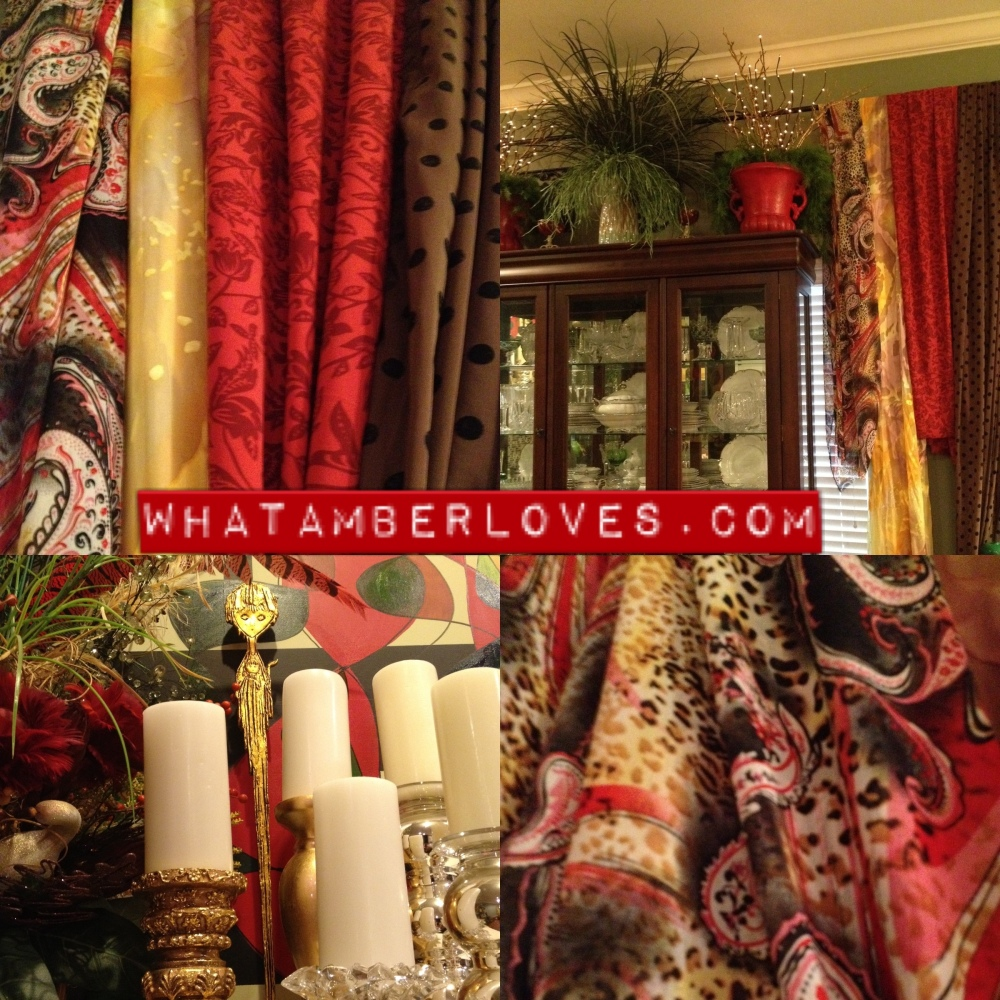 Gypsy? Hippie? SCARF CURTAINS!! (1/5)