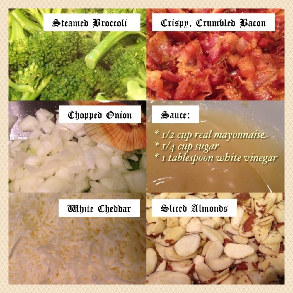Broccoli Salad ~Sweet & Tangy (2/4)