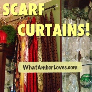 Gypsy? Hippie? SCARF CURTAINS!! (5/5)