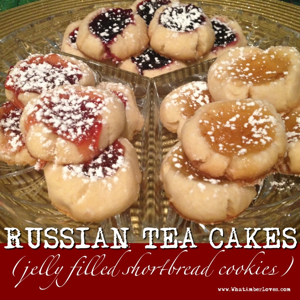 RUSSIAN TEA CAKES | what AMBER loves