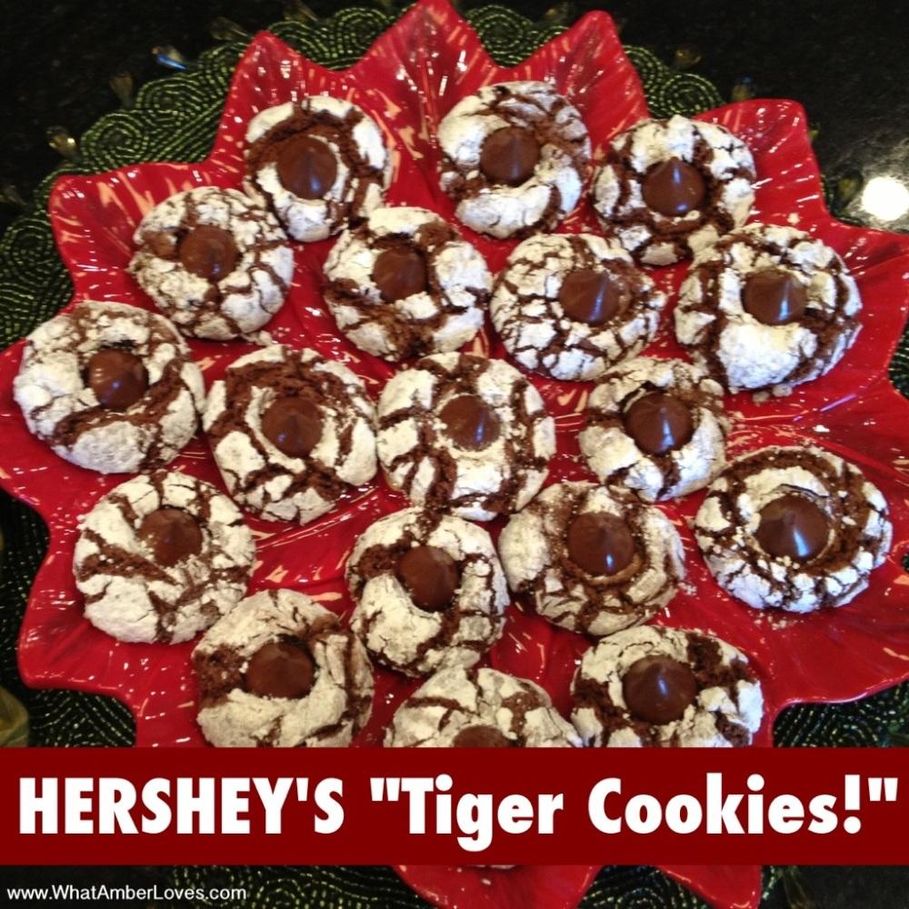 Hershey's Special Dark Tiger Cookies (1/4)