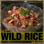 Best WILD RICE side dish, ever!