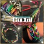 DIY: ribbons & rhinestones braided bracelet orchoker