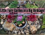 Little Fairy Garden in a Big Birdcage!