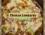 Chicken Lombardy!